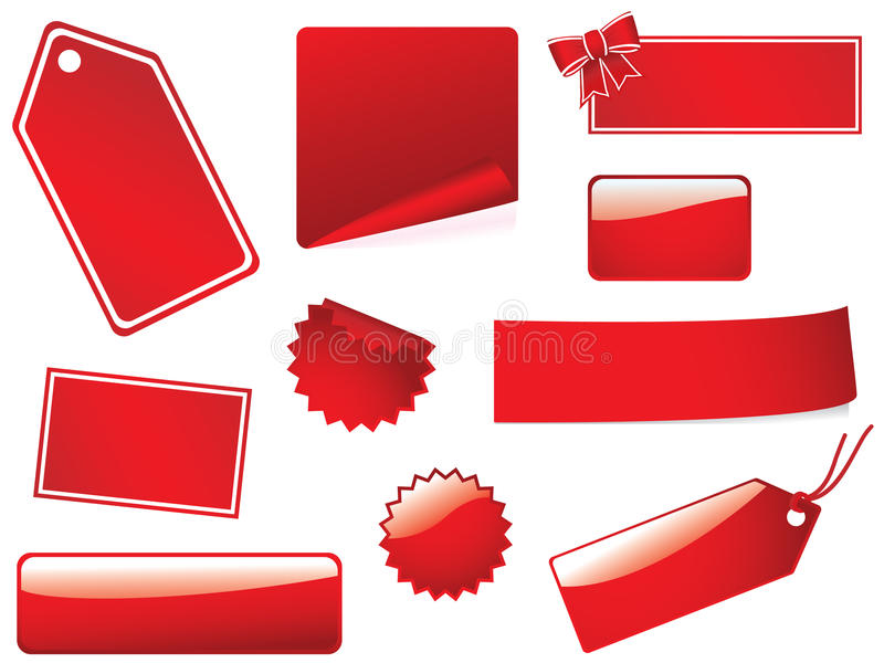 Download Blank Stickies And Labels Stock Photos - Image: 9506613