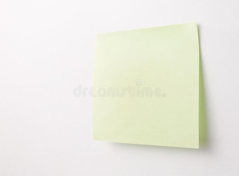 Download Blank Sticky Note stock photo. Image of communication - 30884718