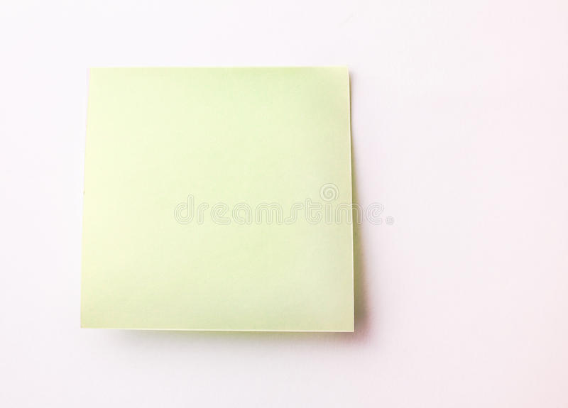 Download Blank Sticky Note stock image. Image of blank, do, note - 30884721
