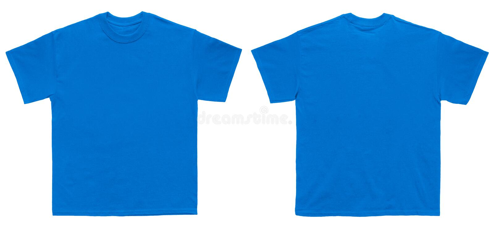 front back blue t shirt stock images download 1308