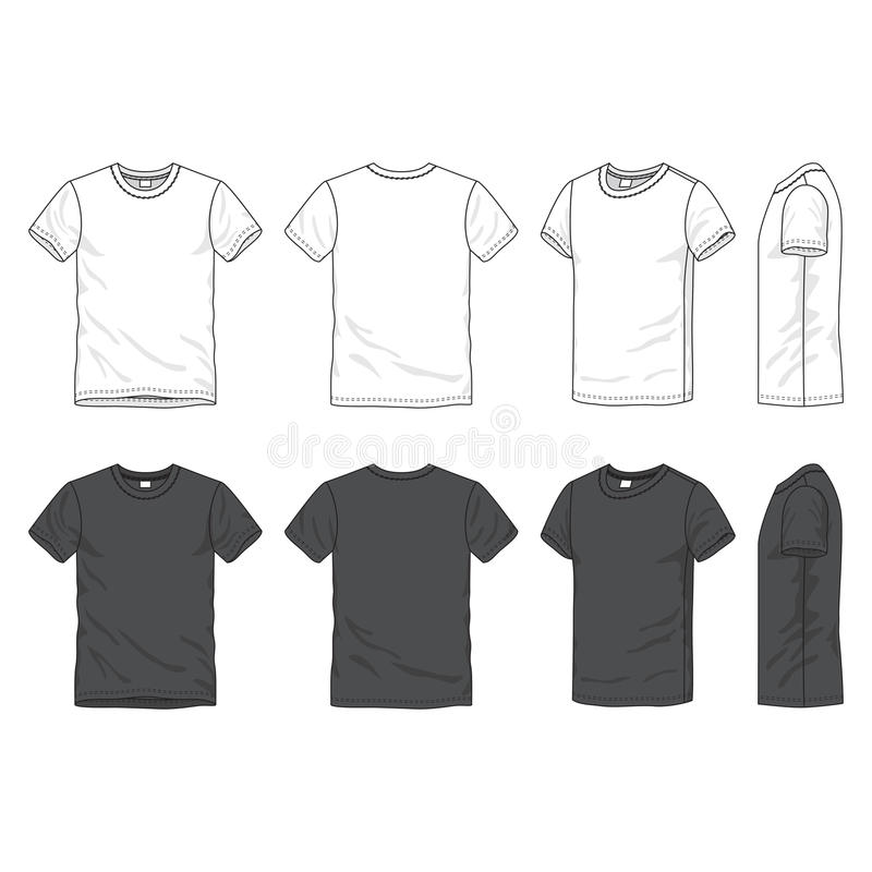 Blank t-shirt vector illustration