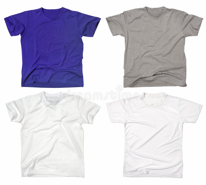 Free Blank T-shirts 2 Stock Photos - 3687013