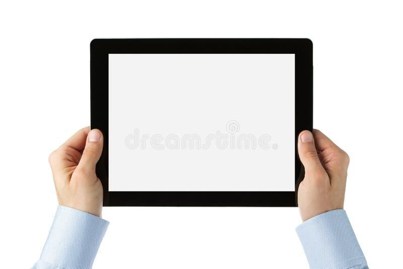 blank tablet för digital bana för clipping arkivbilder