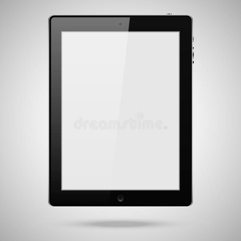 Blank tablet pc royalty free stock image