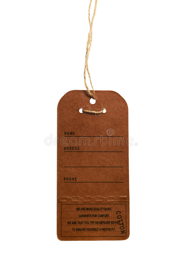 Download Blank tag stock photo. Image of paper, cardboard, poster - 10551506