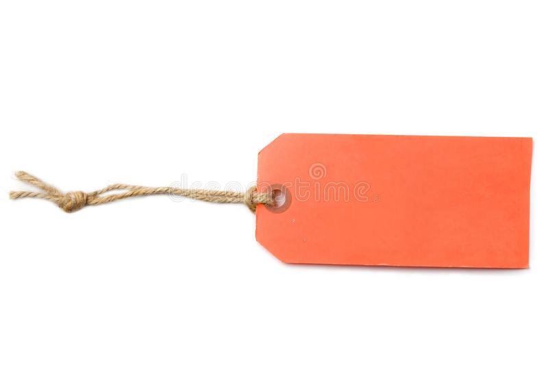 Blank Tag Label stock photography