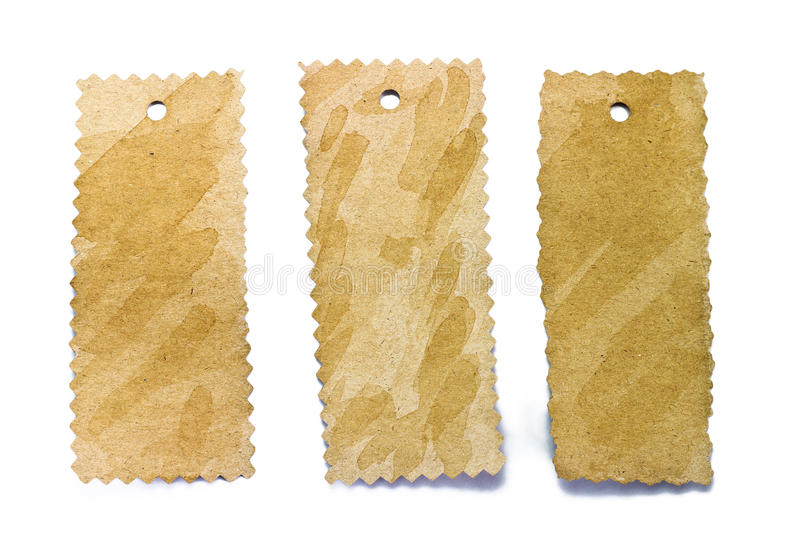 Download Blank Tag Tied With String. Stock Photos - Image: 23880943