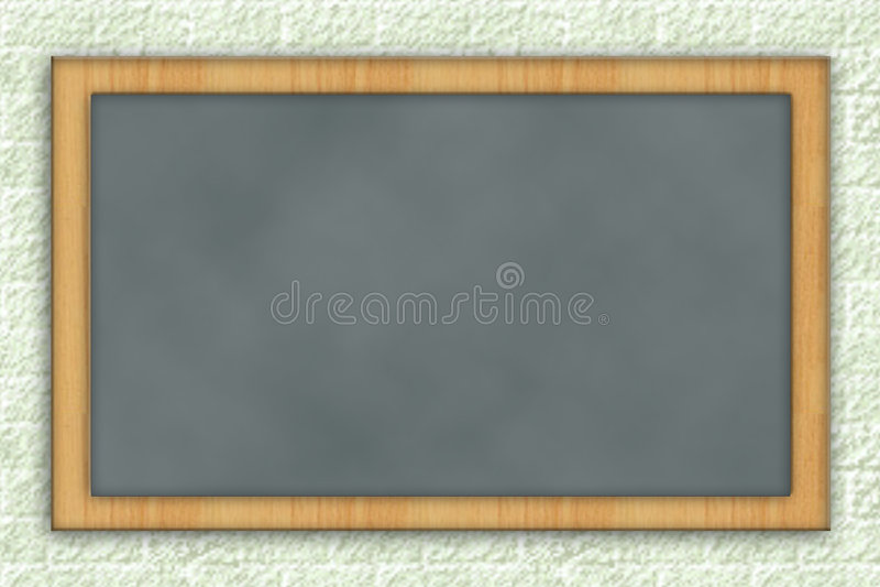 blank tavla stock illustrationer