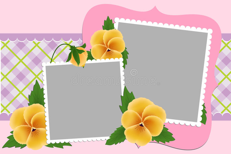 Download Blank Template For Photo Frame Stock Vector - Image: 13943861