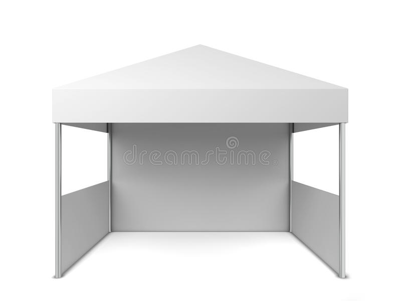 Blank tent royalty free illustration