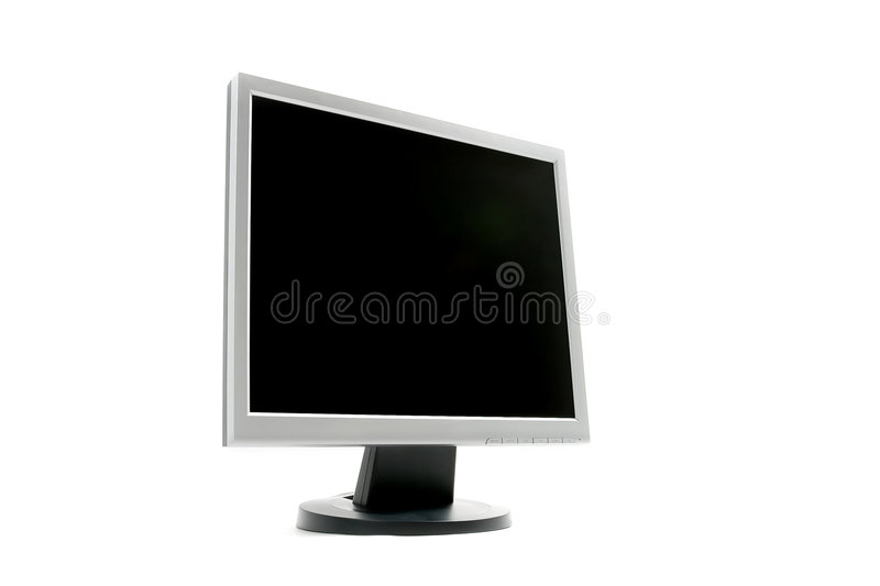 Blank TFT monitor royalty free stock images