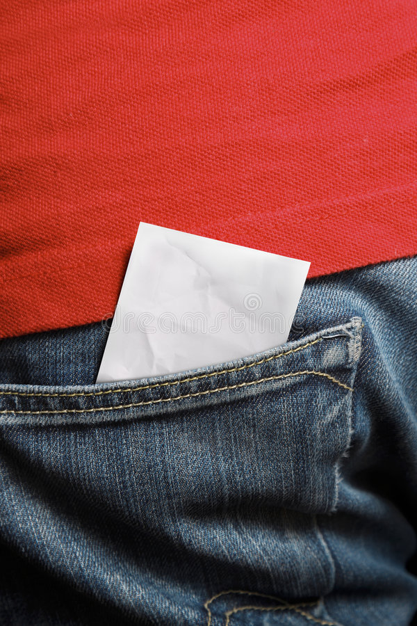 Blank ticket royalty free stock image