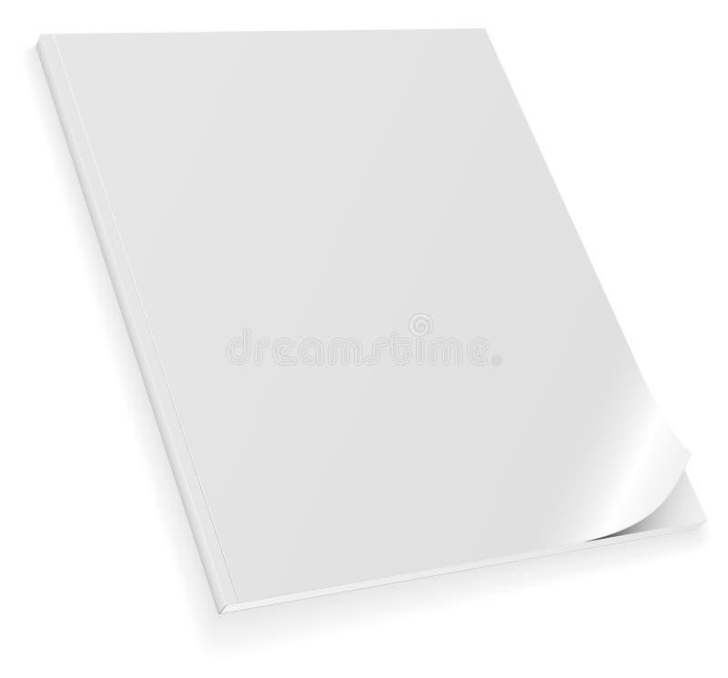 blank tidskrift vektor illustrationer