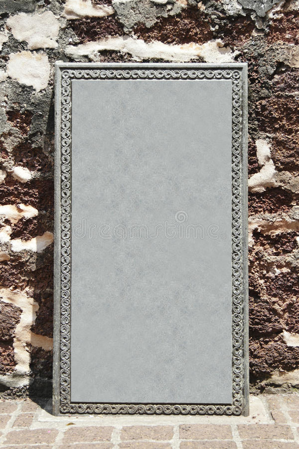 Download Blank Tombstone Royalty Free Stock Photo - Image: 14430365