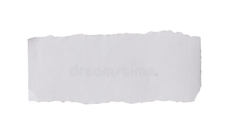 Blank torn paper royalty free stock images