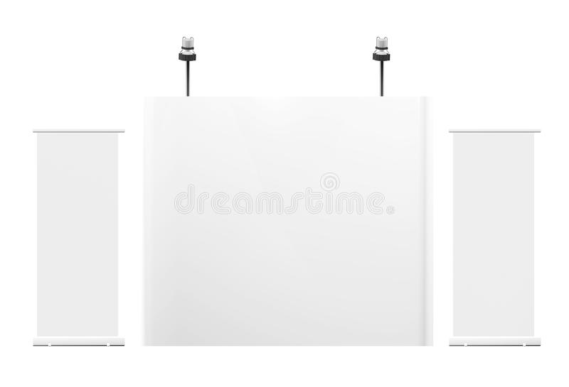 Download Blank Trade Exhibition Royalty Free Stock Photo - Image: 20094205