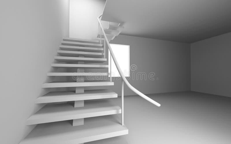 blank trappa stock illustrationer
