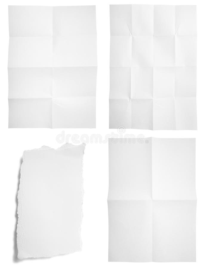 Download Blank Unfolded Paper Used Marks Grunge Stock Images - Image: 11699894