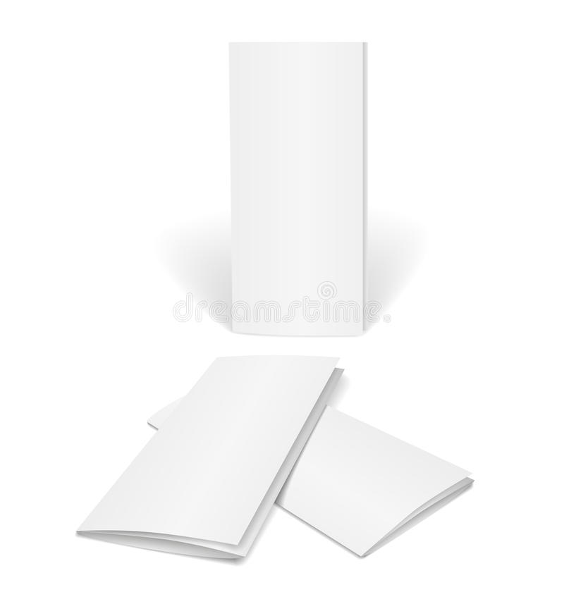 Blank Vector Brochure Template Stock Vector  Image