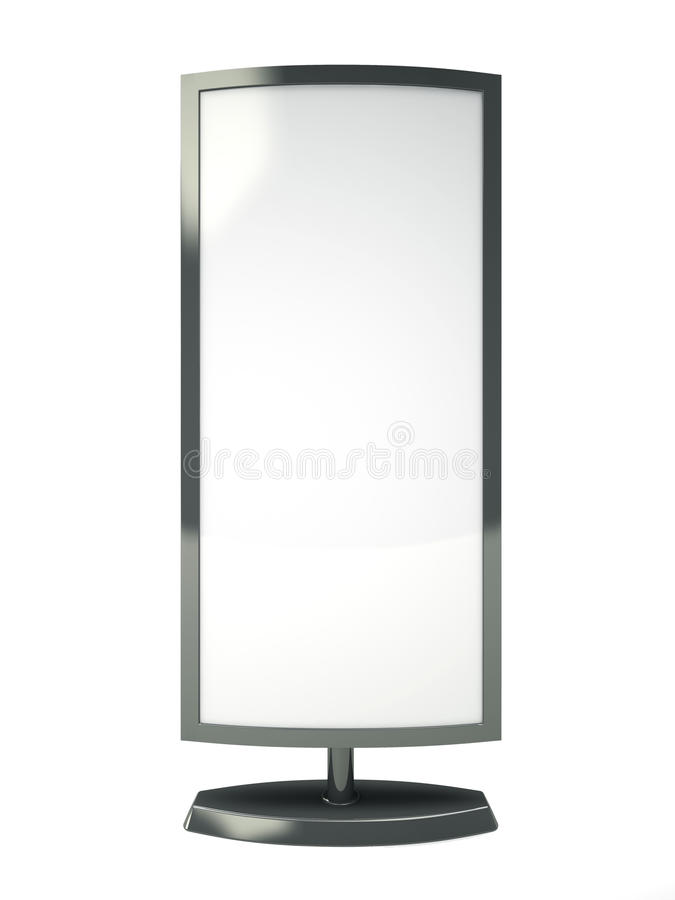 Download Blank vertical billboard stock image. Image of advertise - 33360905