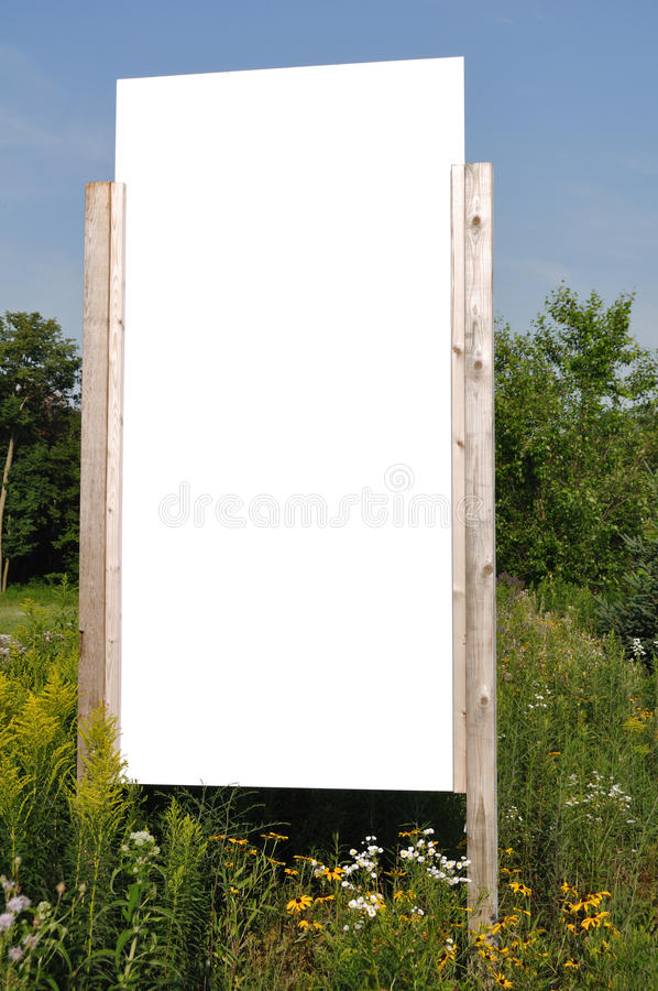 Download Blank Vertical Sign stock image. Image of board, billboard - 15201541