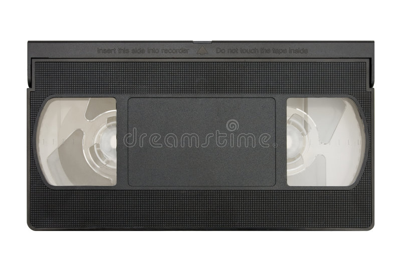 Download Blank video cassette stock image. Image of computer, obsolete - 2311755
