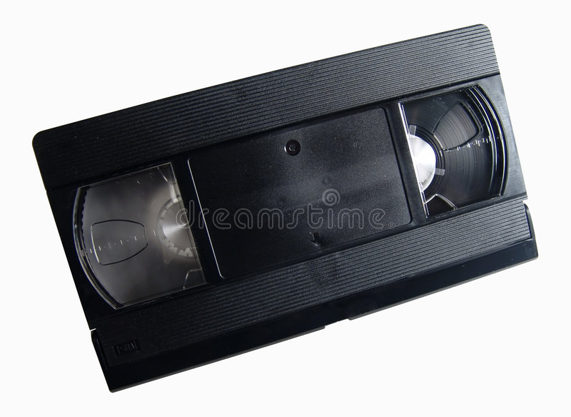 Download Blank Video Tape stock photo. Image of electronis, movie - 10408
