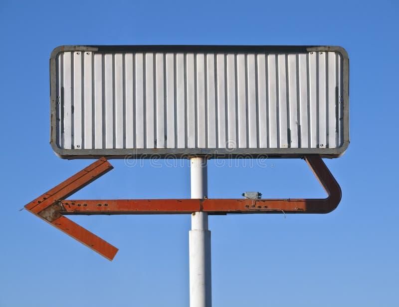 Download Blank Vintage Arrow Sign stock photo. Image of arrow - 22585144