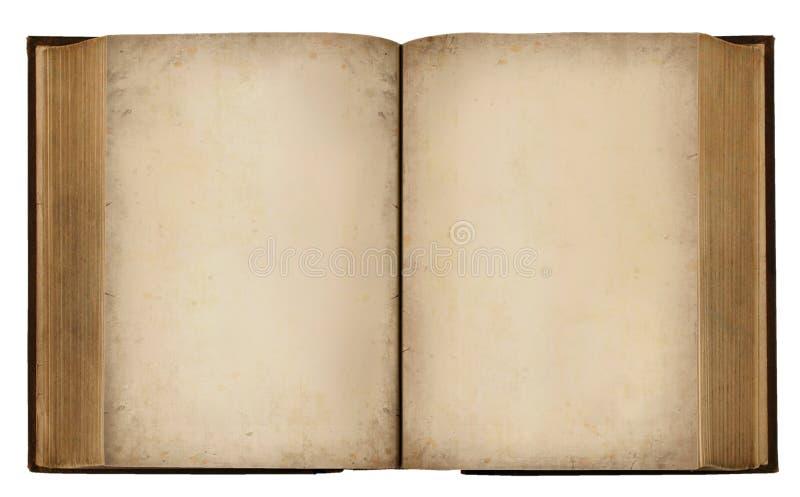 Blank Vintage Book royalty free stock photo