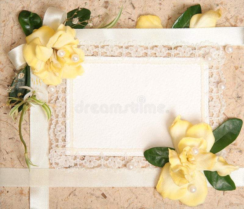 Blank Vintage Paper Royalty Free Stock Photo