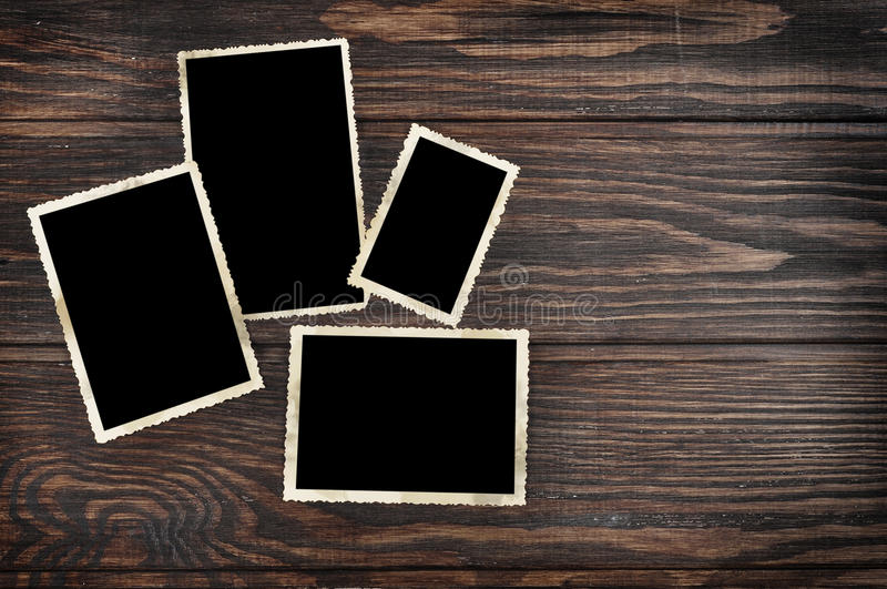 Download Blank vintage photo frames stock image. Image of paper - 29331353
