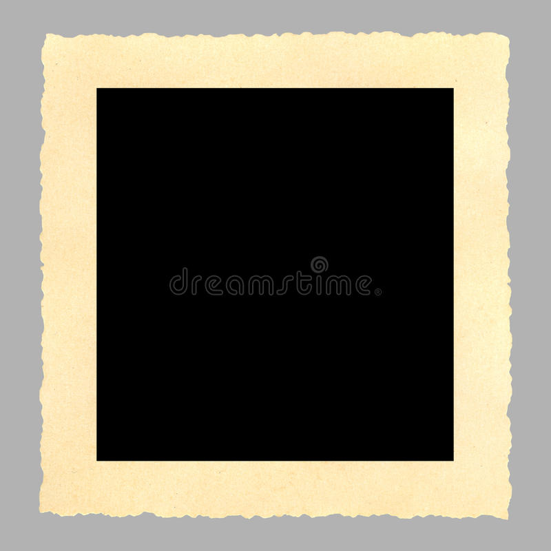 Free Blank Vintage Picture Frame,deckle Edged Stock Image - 10255761