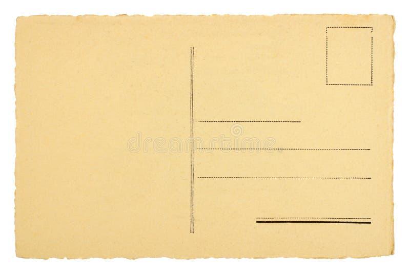 Blank vykort arkivfoton