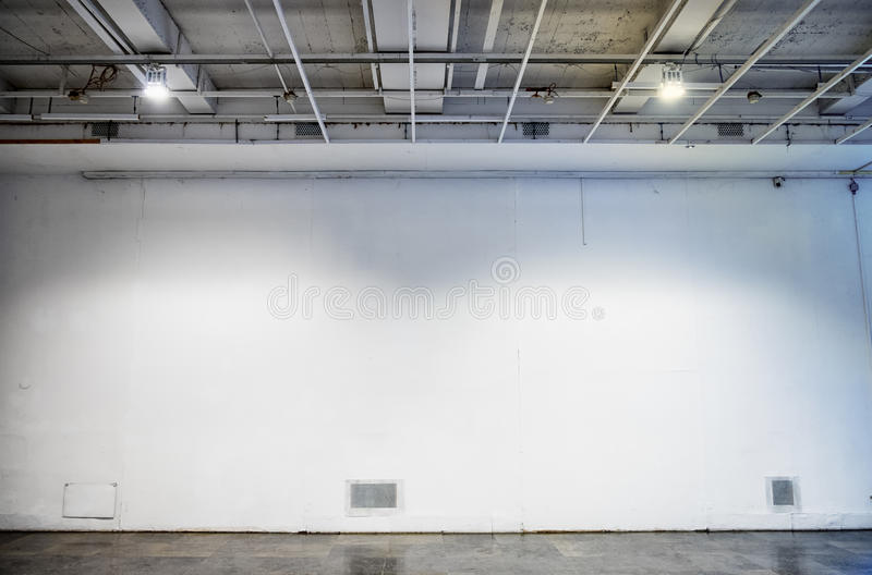 Blank wall stock photography