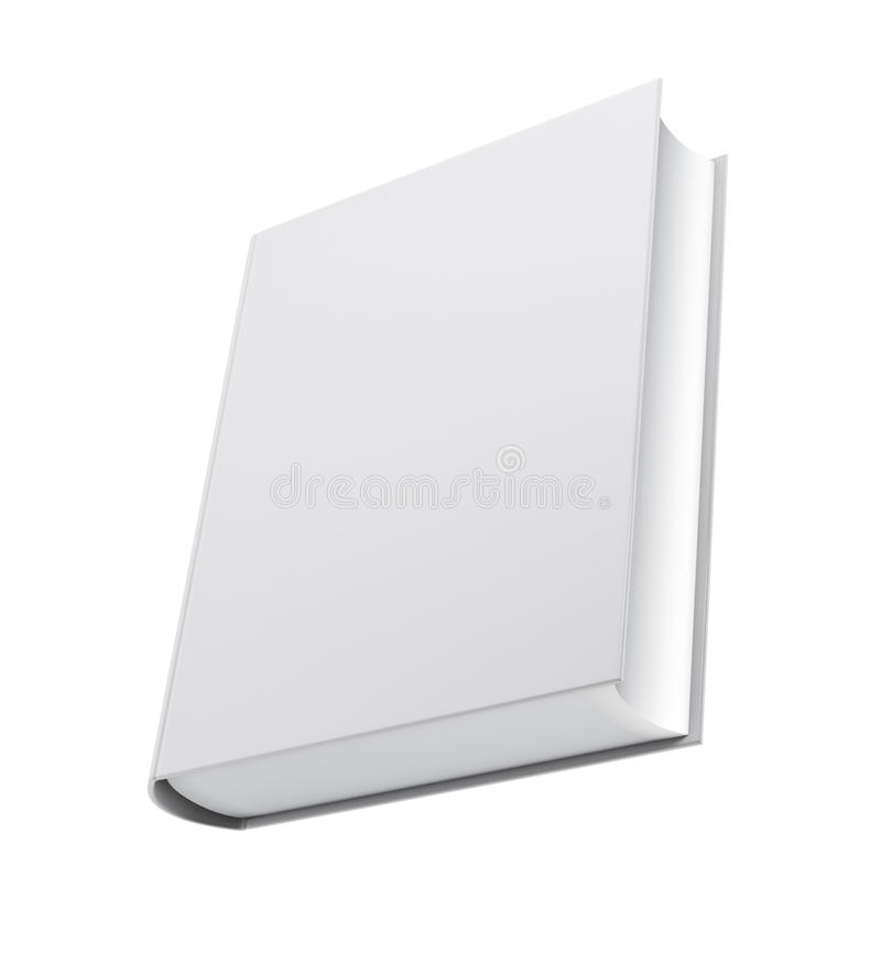 White Book Cover Paper : Blank white book cover stock illustration of