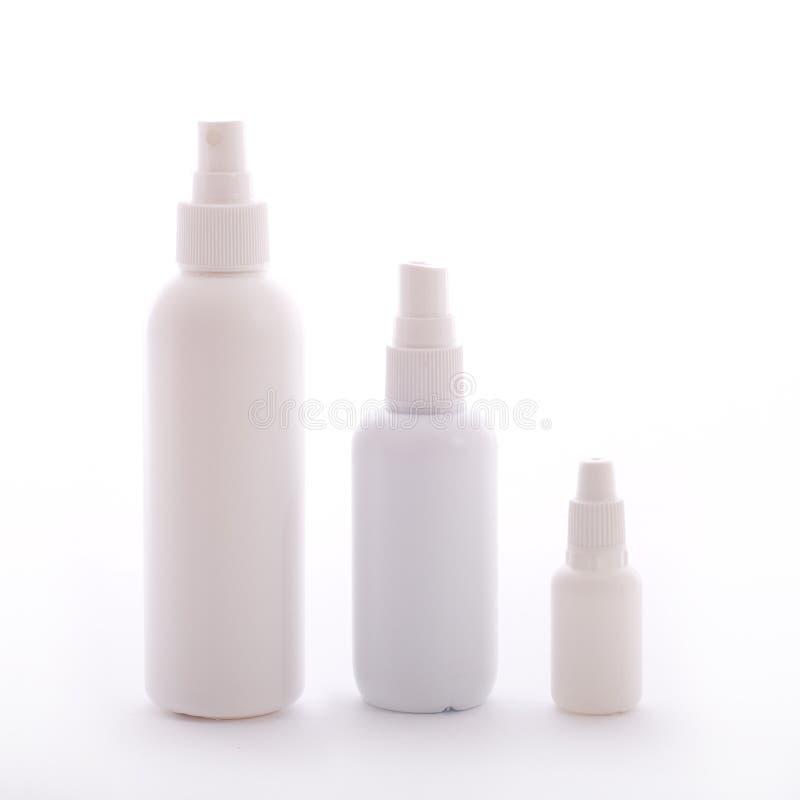 Download Blank white bottles stock photo. Image of bottle, luxury - 14859228