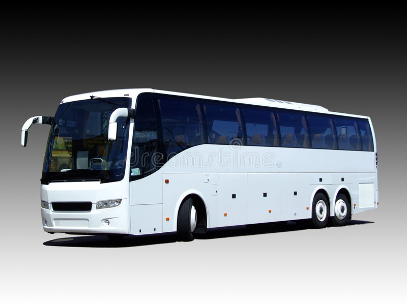 Download Blank white bus stock image. Image of ticket, travelling - 5361753