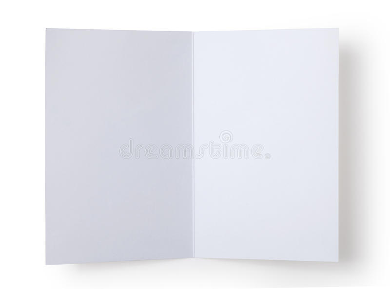 blank white card royalty free stock image