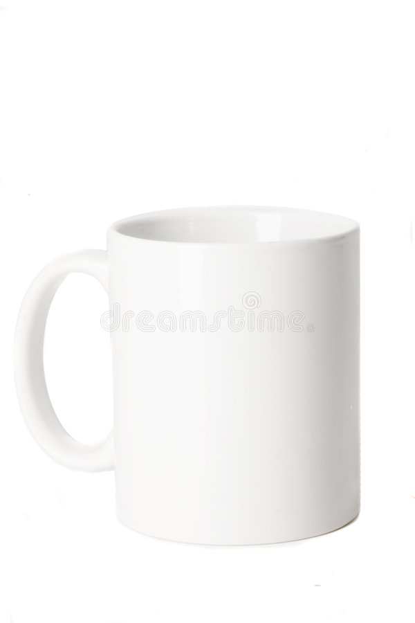 Free Blank White Cup Royalty Free Stock Images - 6531899