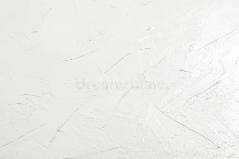 Blank white grunge cement wall texture background royalty free stock photo