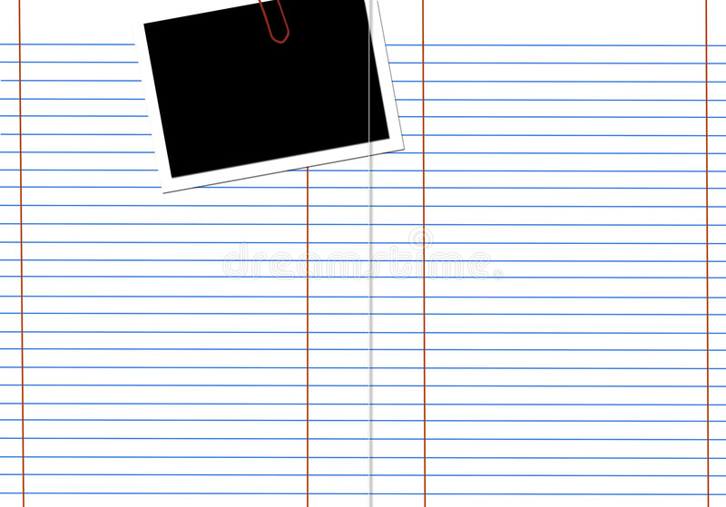Download Blank white notebook stock image. Image of college, note - 3003615