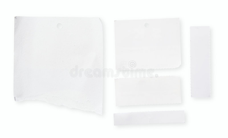 Download Blank White Paper Stock Photo - Image: 2298830
