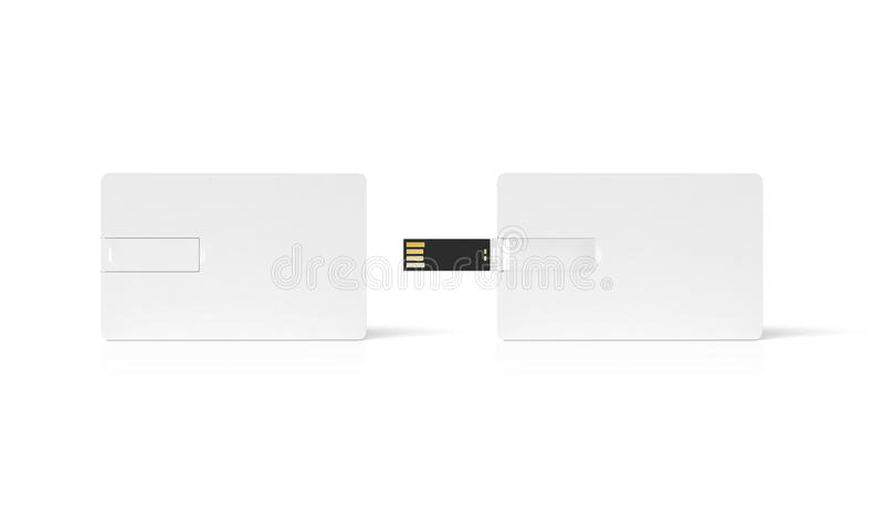 Blank white plastic wafer usb card mockup opened and closed stock download blank white plastic wafer usb card mockup opened and closed stock illustration reheart Gallery