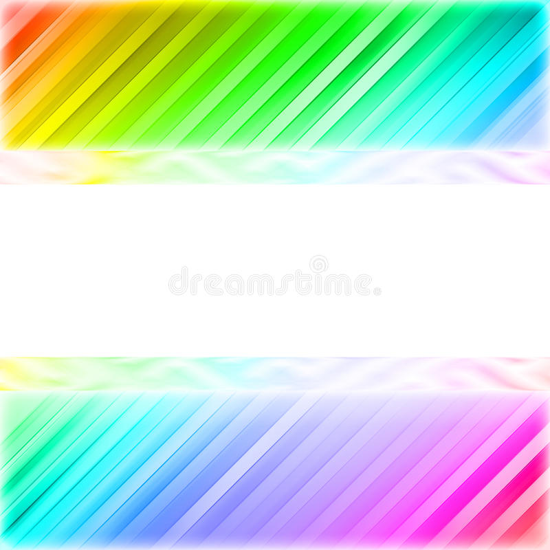 Download Blank White Plate On The Colorful Background Stock Illustration - Image: 27843885