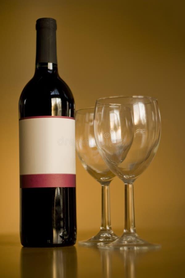 Free Blank Wine Bottle Stock Photos - 5024533