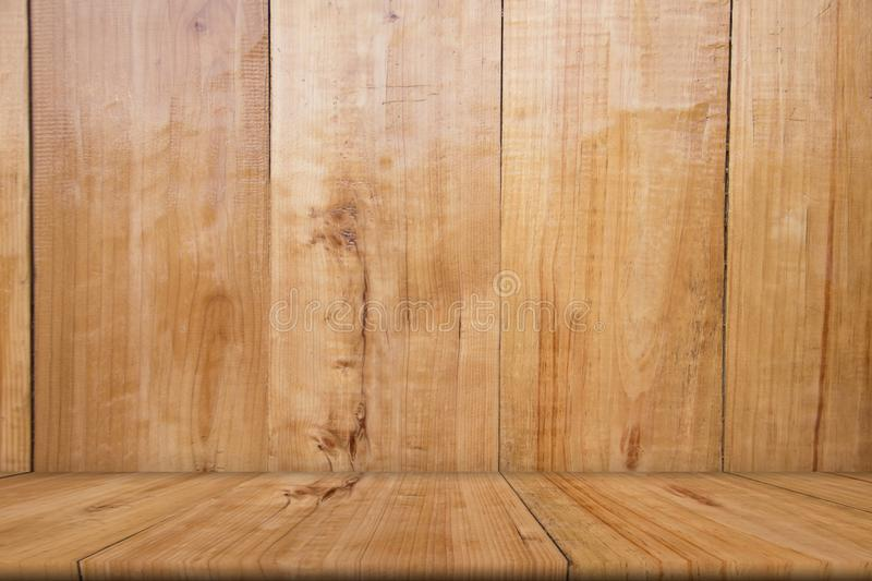 Blank wooden table of brown, copy space , mock up, abstract. Background stock photography