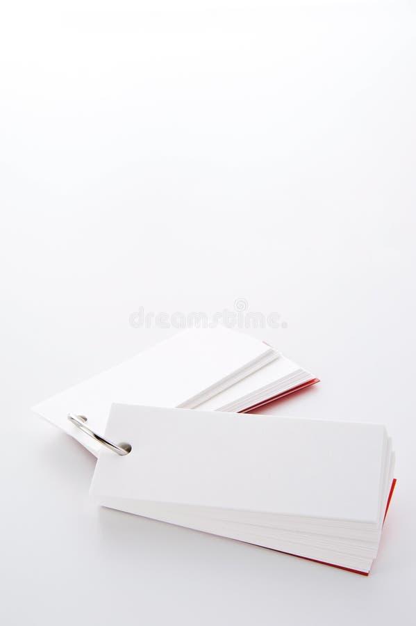 Blank wordbook royaltyfria bilder