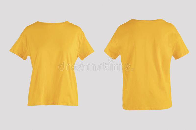426 Blank Shirt Back Yellow Photos Free Royalty Free Stock Photos From Dreamstime
