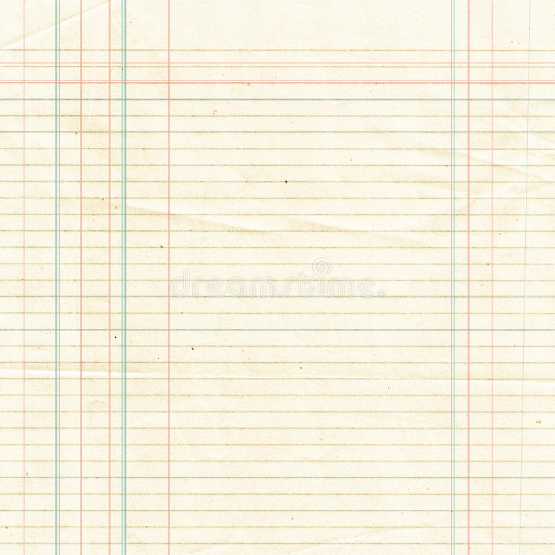 Sepia lined paper sheet background or textured. Blank yellow lined paper sheet background or textured vector illustration