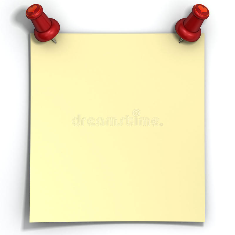 Download Blank Yellow Love Note Paper Stock Illustration - Illustration of blank, sign: 28080519